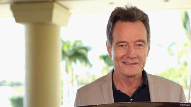 Actor Bryan Cranston, recipient of the 2016 Maui Film Festival Navigator Award in Wailea, poses during day 4 of the 2016 Maui Film Festival at Wailea on June 18, 2016 in Wailea, Hawaii.
