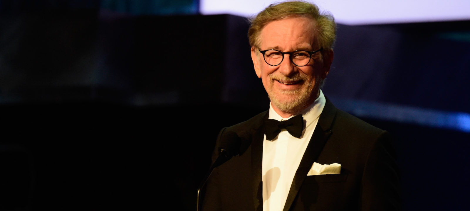 Director Stephen Spielberg onstage during American Film Institute's 44th Life Achievement Award Gala Tribute show to John Williams at Dolby Theatre on June 9, 2016 in Hollywood, California.