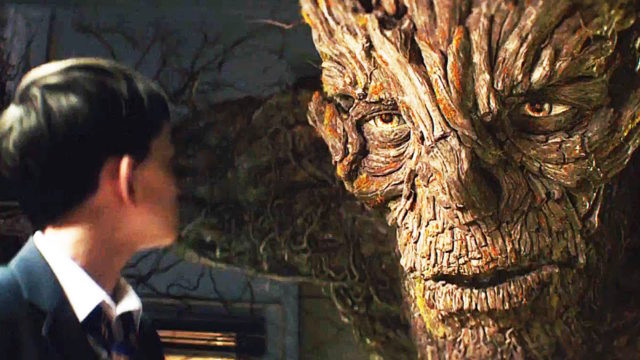Liam Neeson in 'A Monster Calls'