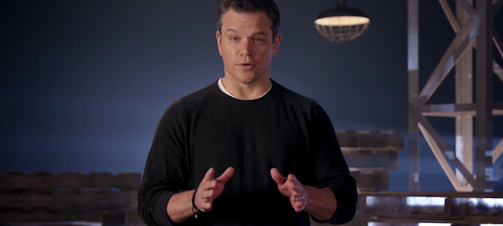 Matt Damon summarizes the Jason Bourne films