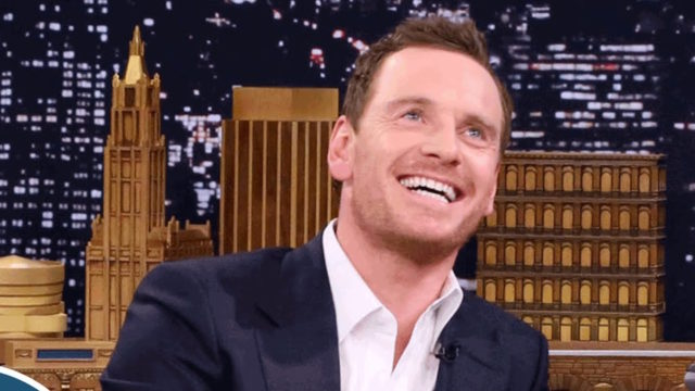 Michael Fassbender on The Tonight Show with Jimmy Fallon on July 26, 2016