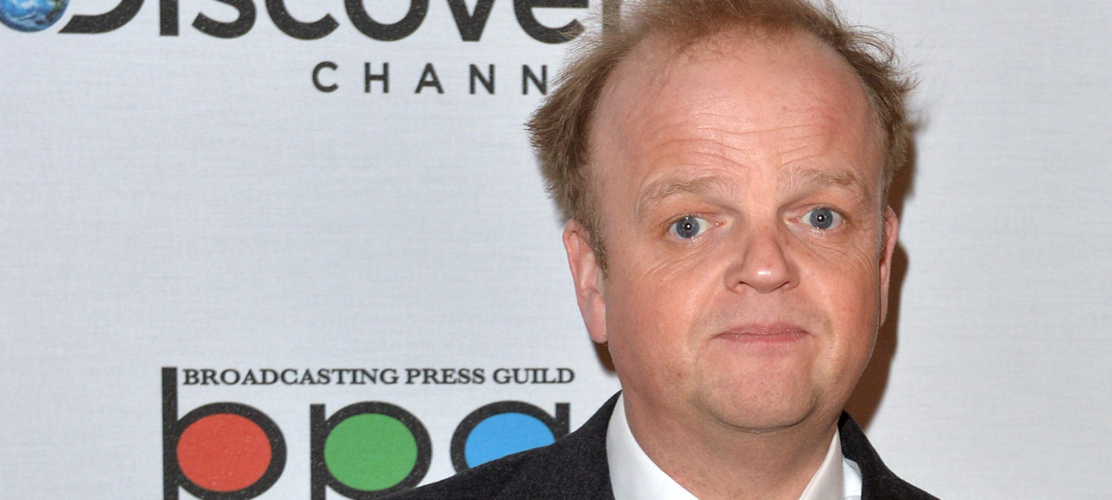 Toby Jones attends the Broadcasting Press Guild awards at Theatre Royal on March 13, 2015 in London, England.