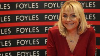 Helen Fielding Signs Copies Of The New Bridget Jones Book
