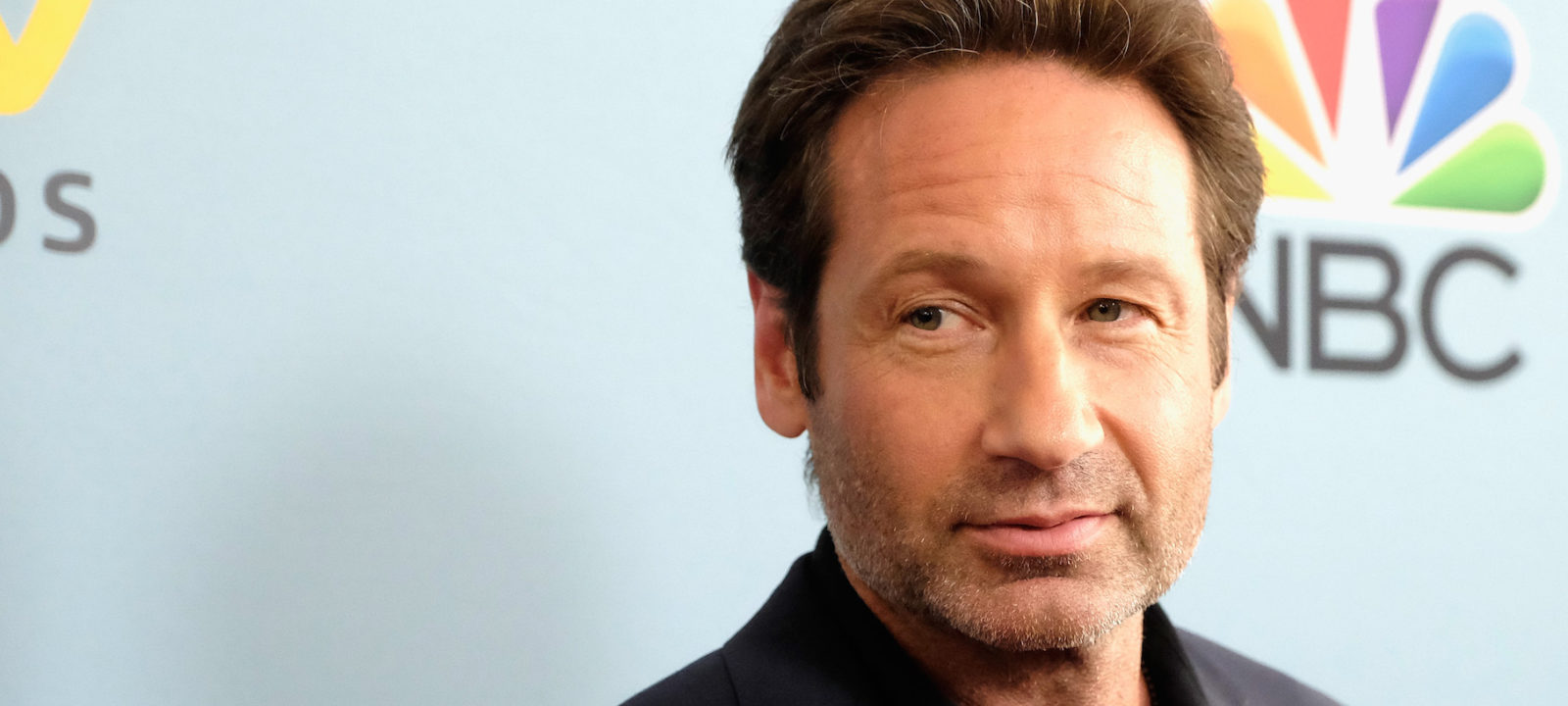 "Actor David Duchovny arrives at the Premiere of NBC's ""Aquarius"" Season 2 at The Paley Center for Media on June 16, 2016 in Beverly Hills, California."