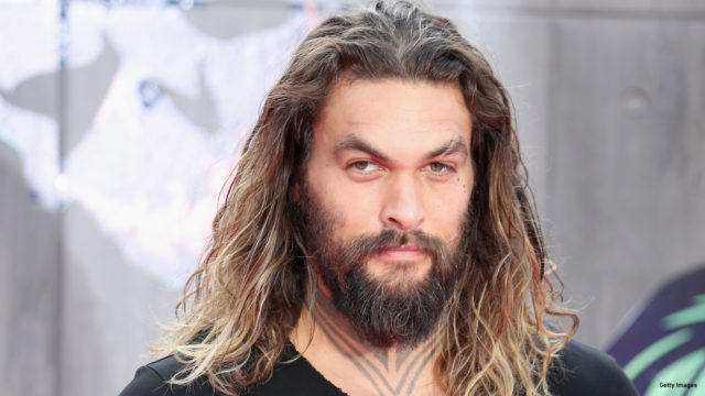 "Jason Momoa attends the European Premiere of ""Suicide Squad"" at the Odeon Leicester Square on August 3, 2016 in London, England."