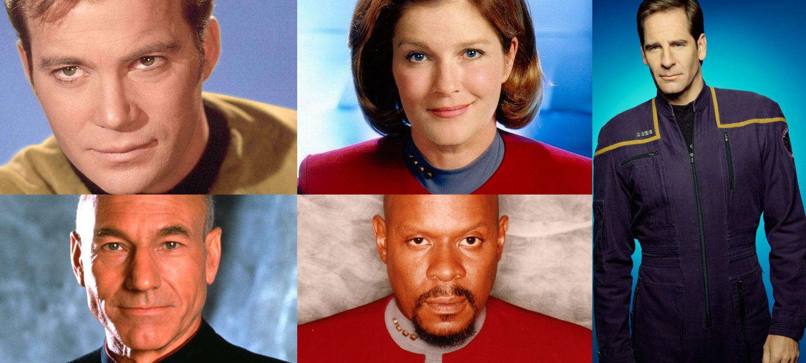 The Captains of 'Star Trek' (Photos: Viacom)