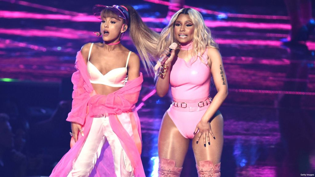 "Ariana Grande ft. Nicki Minaj: ""Side to Side"""