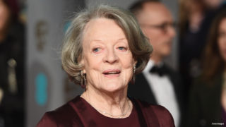Maggie Smith attends the EE British Academy Film Awards at the Royal Opera House on February 14, 2016 in London, England.