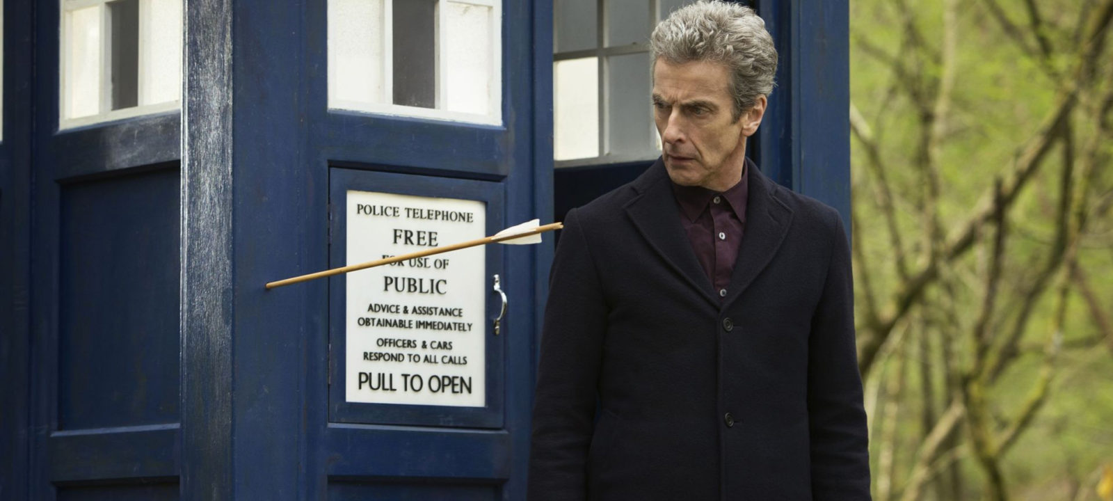 The Doctor and his beloved TARDIS (Photo: BBC)
