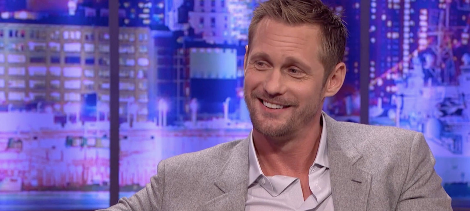 Alexander Skarsgard on The Jonathan Ross Show on October 1, 2016