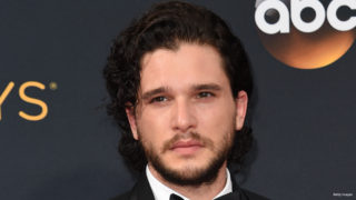 """Game of Thrones"" Kit Harington  arrives for the 68th Emmy Awards on September 18, 2016 at the Microsoft Theatre in Los Angeles.  / AFP / Robyn Beck"