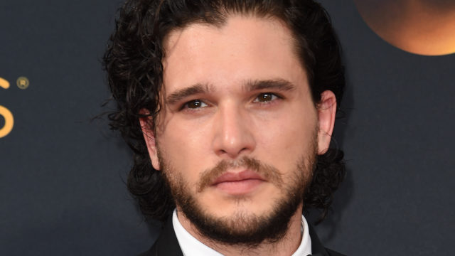 """""""Game of Thrones"""" Kit Harington  arrives for the 68th Emmy Awards on September 18, 2016 at the Microsoft Theatre in Los Angeles.  / AFP / Robyn Beck"""