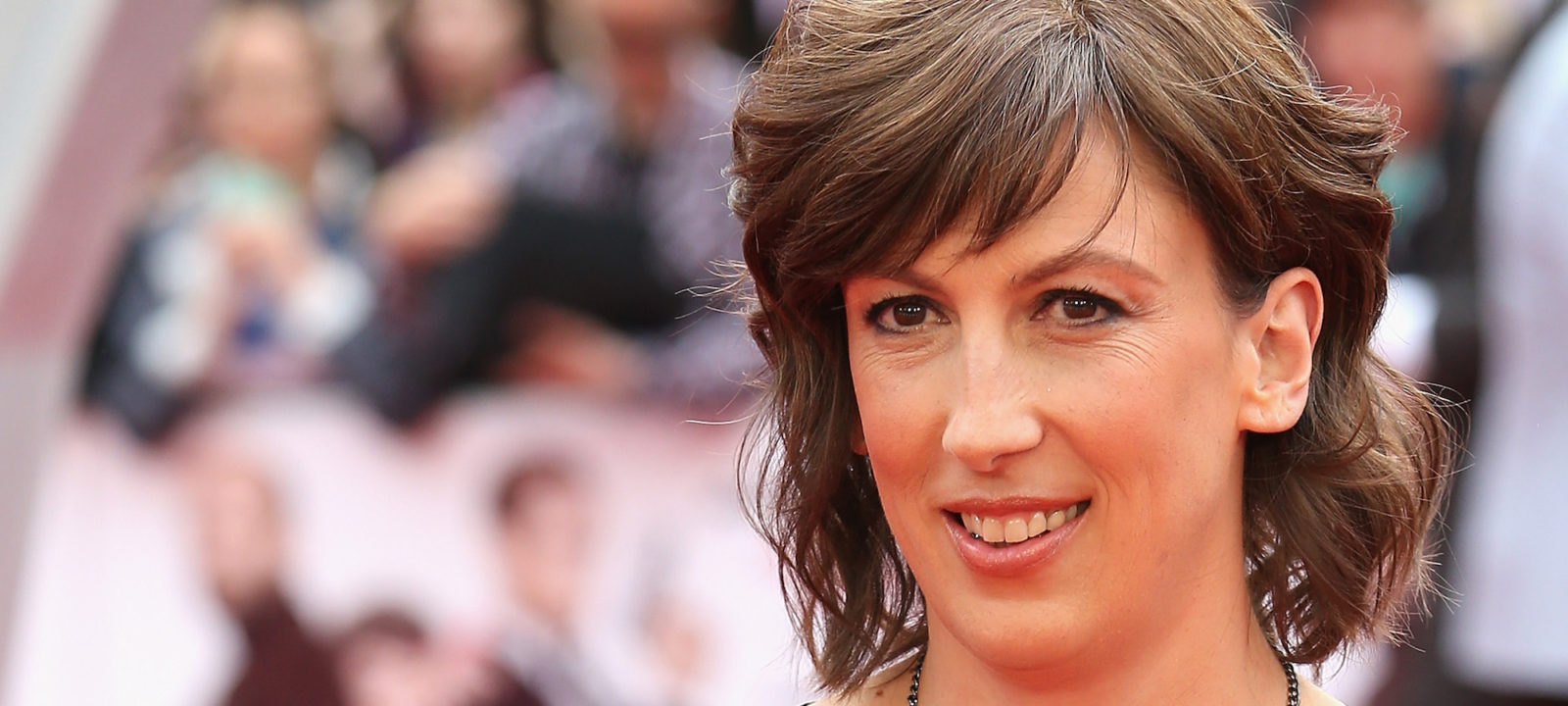 "Miranda Hart attends the UK Premiere of ""Spy"" at Odeon Leicester Square on May 27, 2015 in London, England."