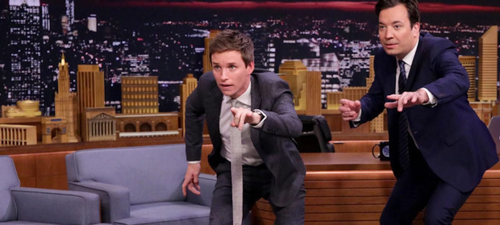 The Tonight Show Starring Jimmy Fallon – Eddie Redmayne