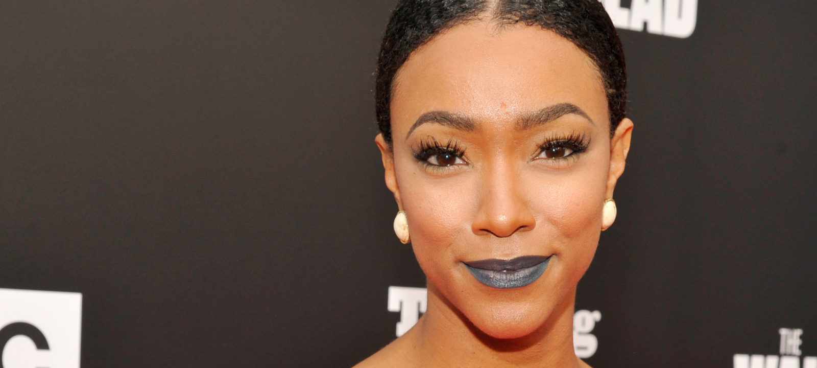 "Actress Sonequa Martin attends AMC presents ""Talking Dead Live"" for the premiere of ""The Walking Dead"" at Hollywood Forever on October 23, 2016 in Hollywood, California."