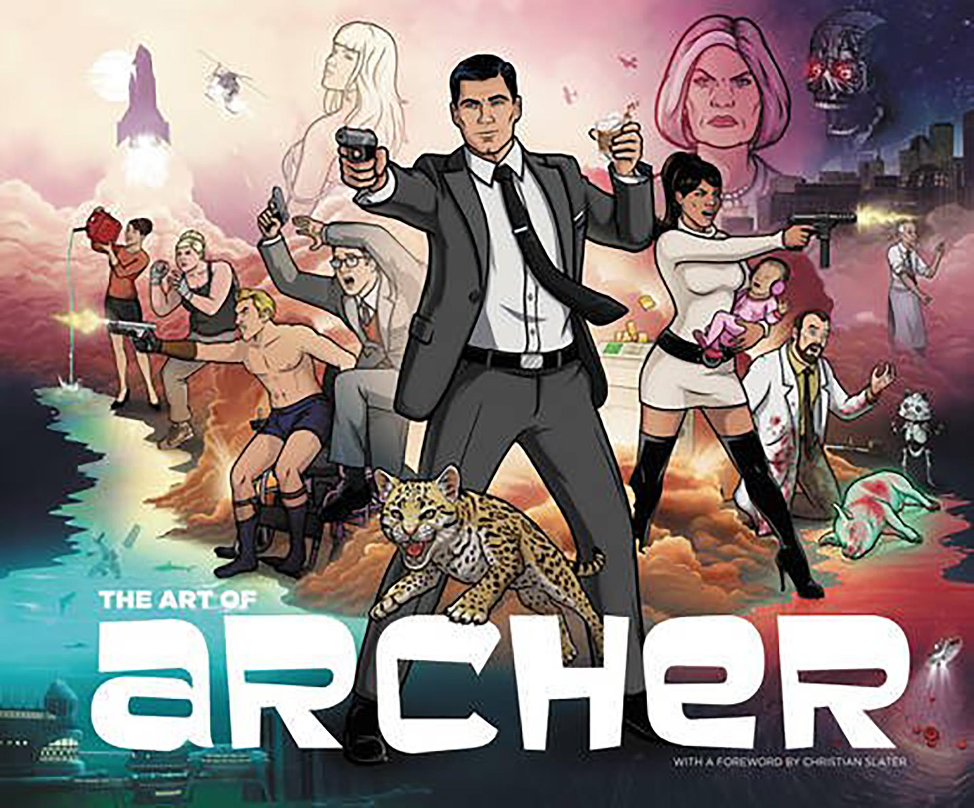 Neal Holman: The Art of Archer