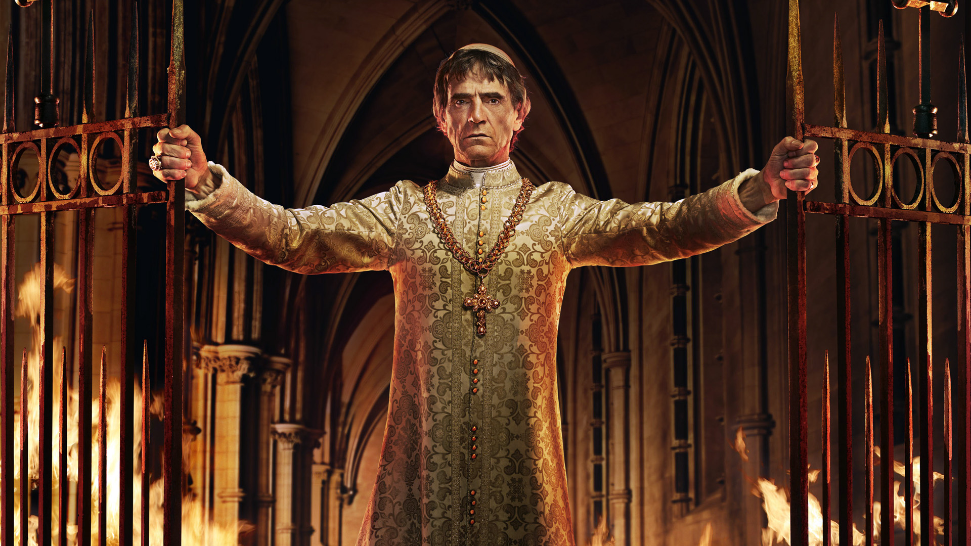 Jeremy Irons as Rodrigo Borgia in 'The Borgias' (Photo: Showtime)