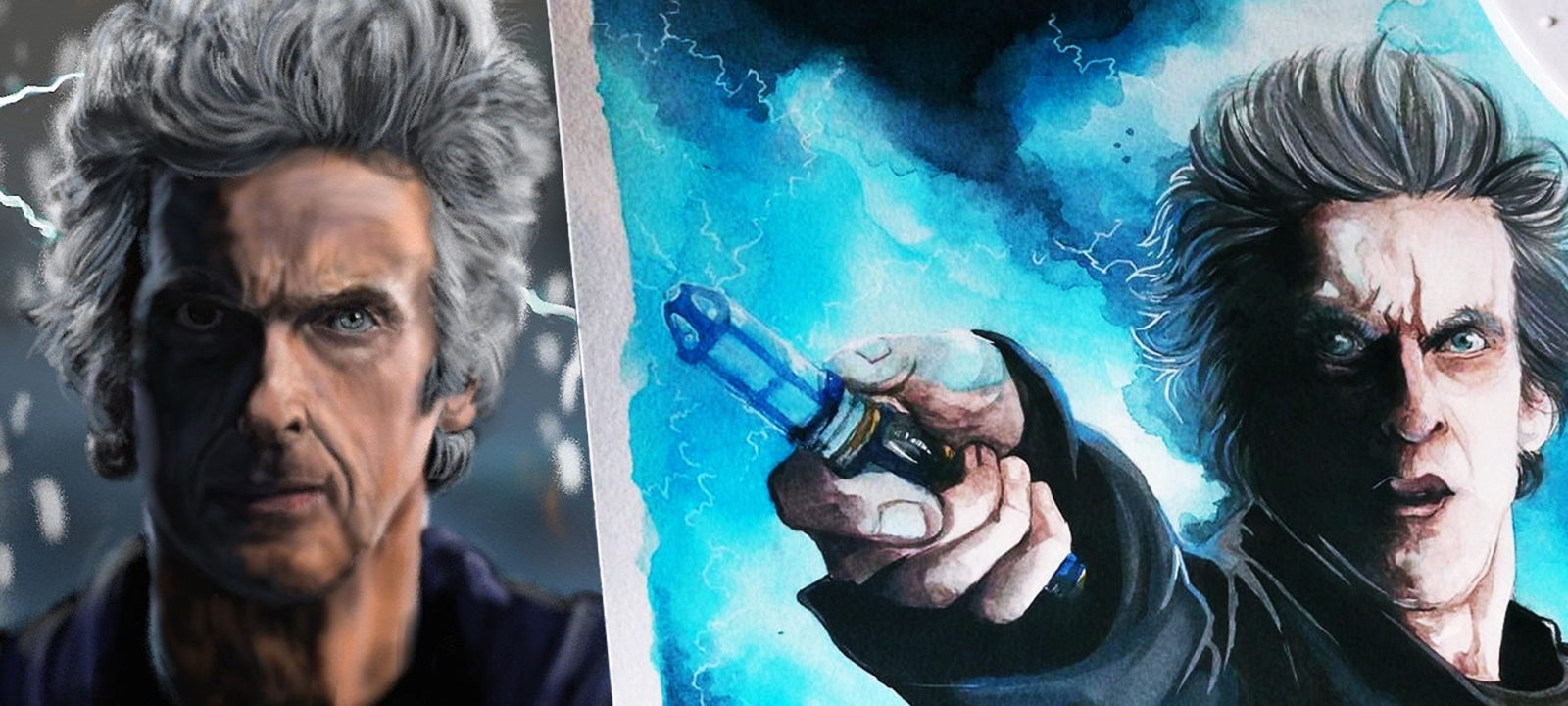 The Doctor, by artisticttimelady and doctorwithaspoon (Photos: Tumblr)
