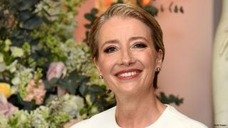 """Emma Thompson attends UK launch event for Disney's """"Beauty And The Beast"""" at Spencer House on February 23, 2017 in London, England."""