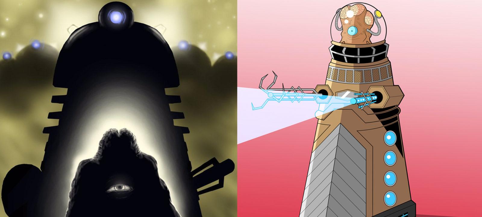 Scott Wauchop and Owenoak's Daleks (Photo: Tumblr)