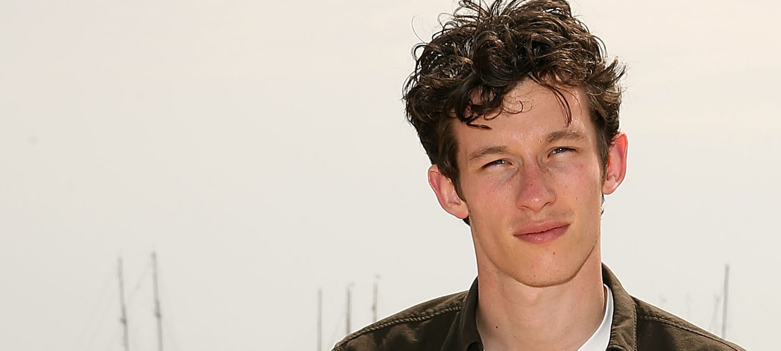 Callum Turner at Cannes in 2014