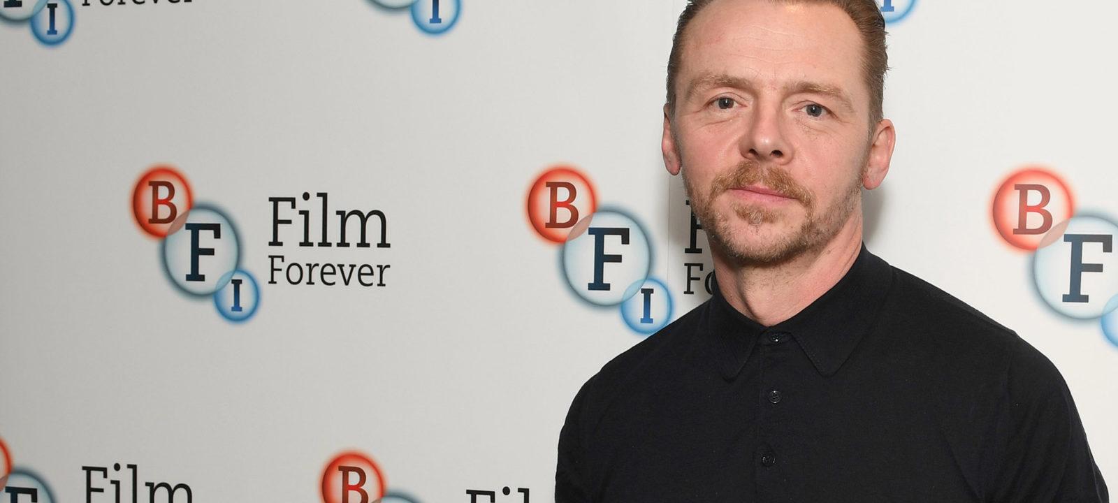 BFI Screen Epiphany With Simon Pegg