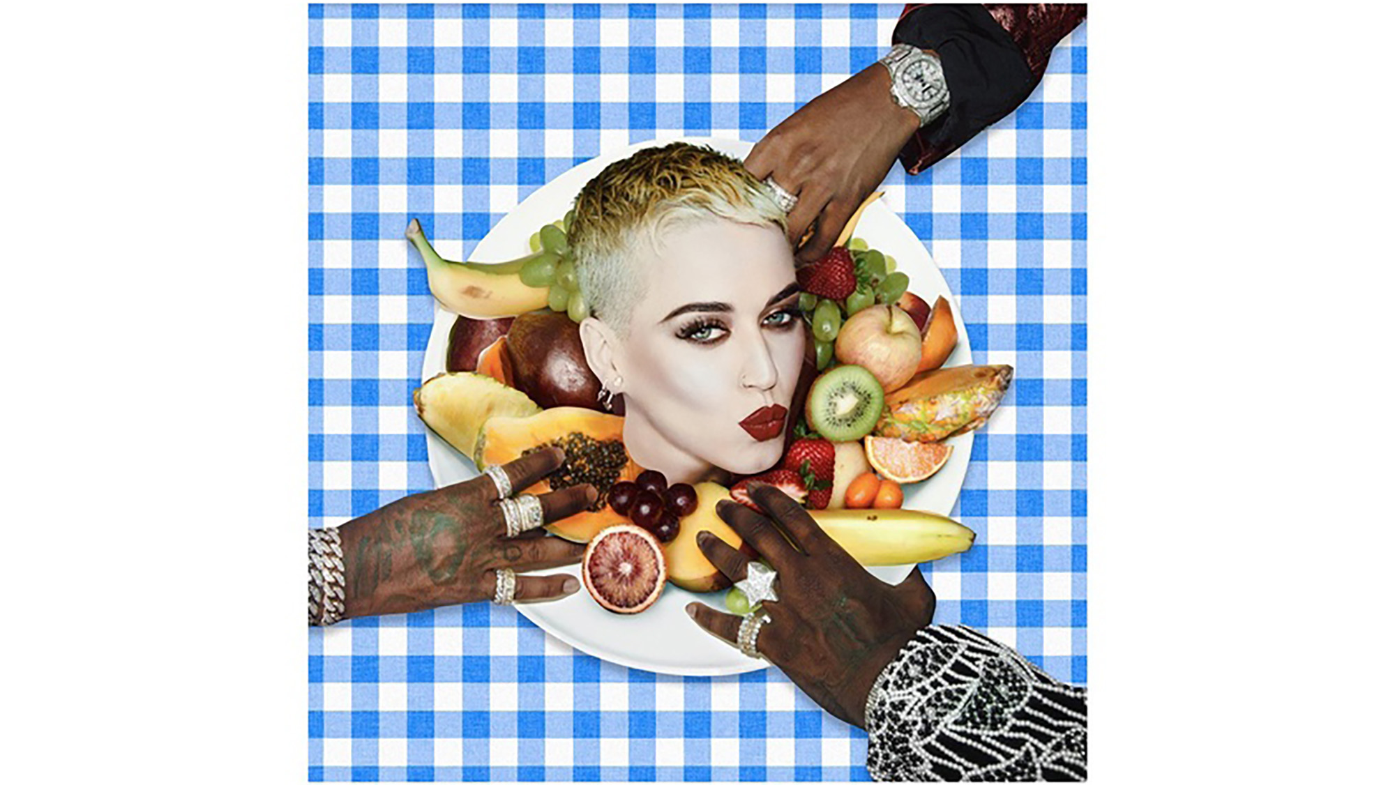 "Katy Perry featuring Migos: ""Bon Appétit"""