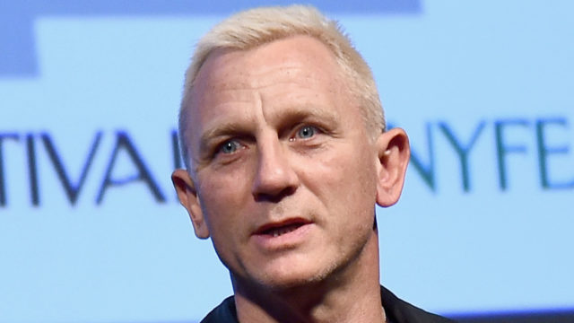 Actor Daniel Craig speaks onstage during The New Yorker Festival 2016 – Daniel Craig Talks With Nicholas Schmidle at MasterCard Stage at SVA Theatre on October 7, 2016 in New York City.