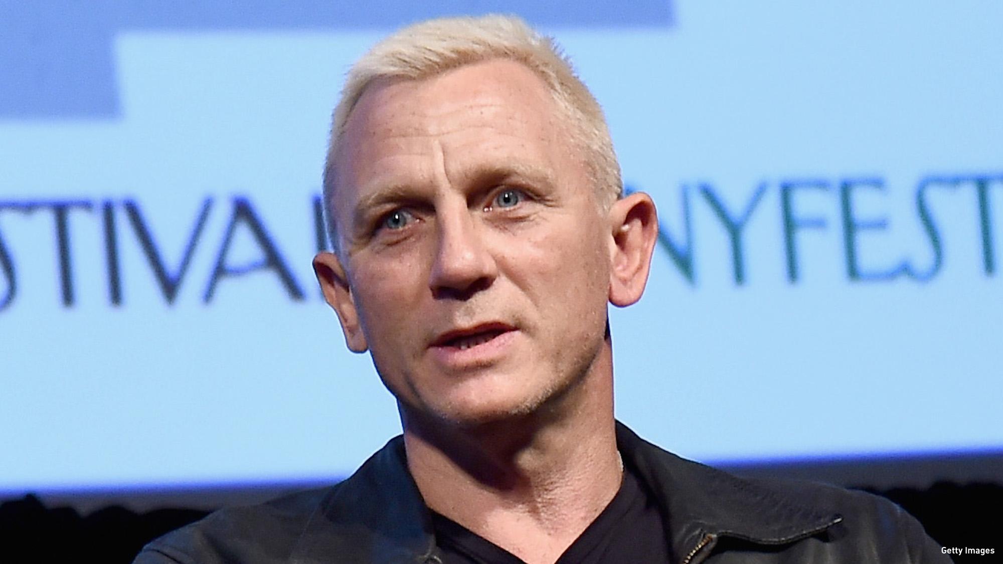 WATCH: A Bleach Blonde Daniel Craig Steals The Show In