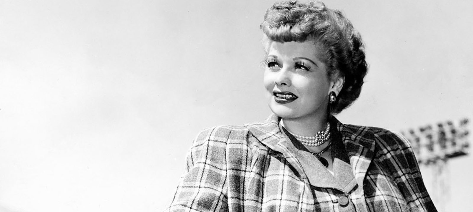 Picture of Lucille Ball taken in Hollywood, Califo