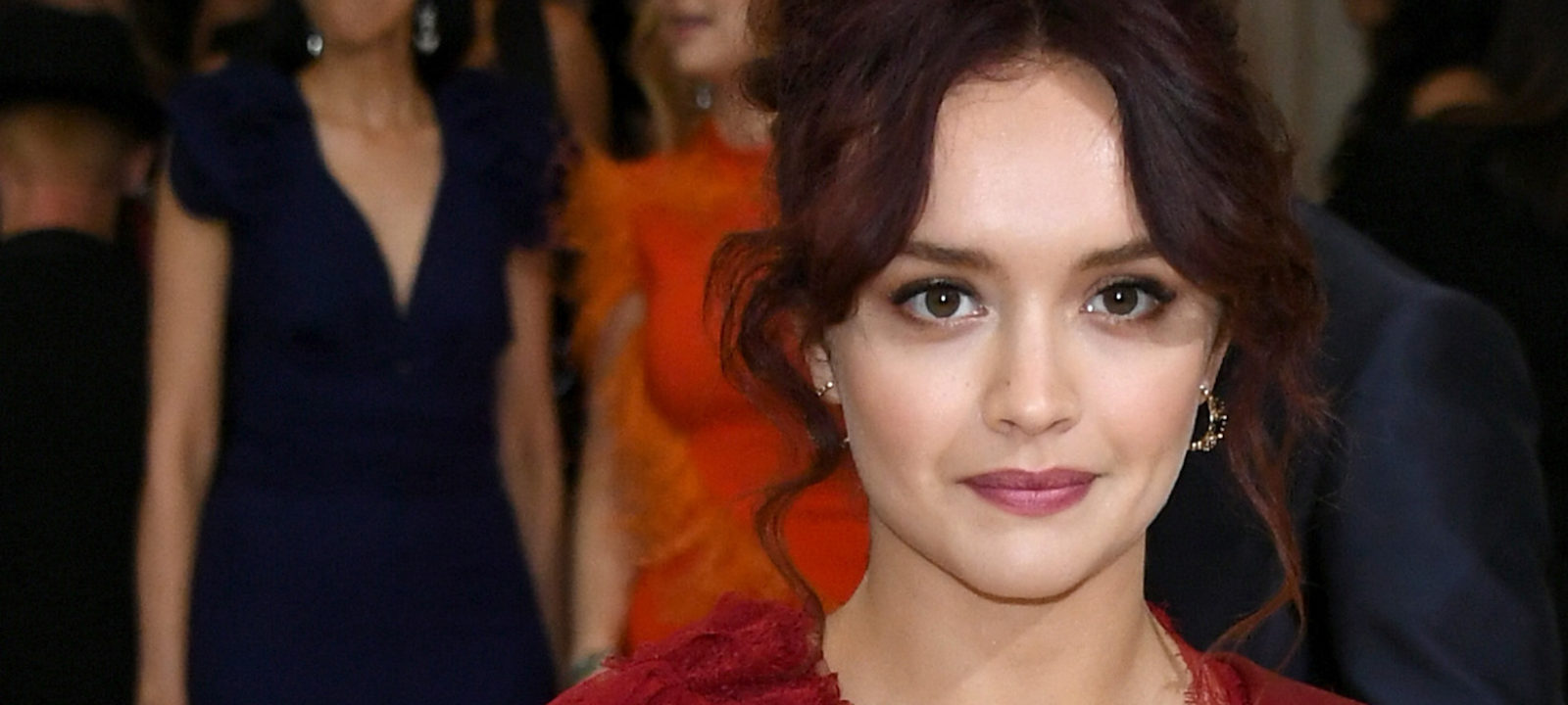 """Olivia Cooke attends the """"Rei Kawakubo/Comme des Garcons: Art Of The In-Between"""" Costume Institute Gala at Metropolitan Museum of Art on May 1, 2017 in New York City."""