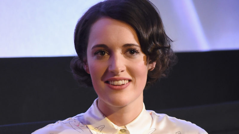 Actress and creator Phoebe Waller-Bridge speaks onstage during the FLEABAG Emmy For Your Consideration Event held at The Metrograph theater on May 8, 2017 in New York City.