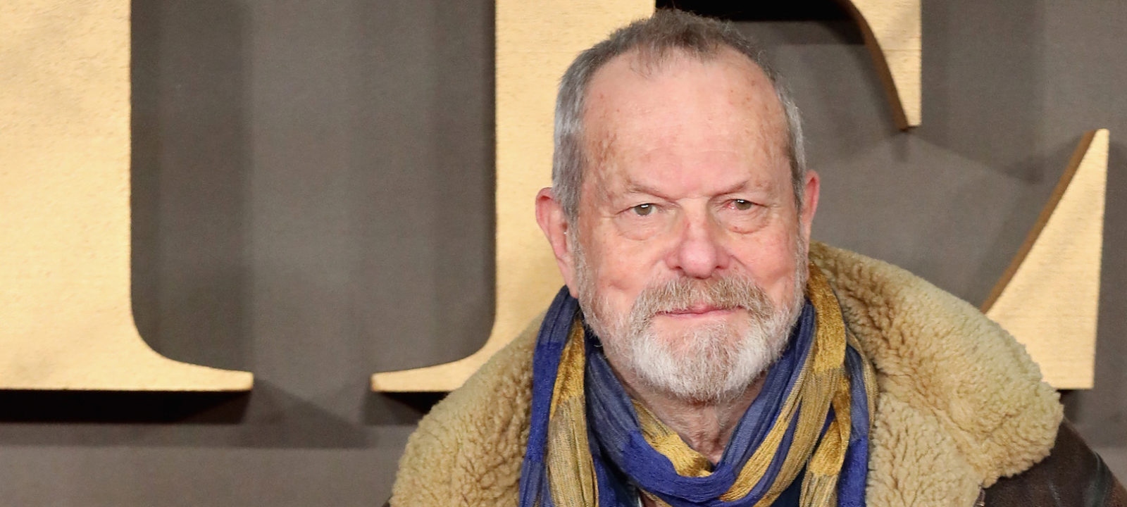 """Terry Gilliam attends the UK Premiere of """"Allied"""" at Odeon Leicester Square on November 21, 2016 in London, England."""