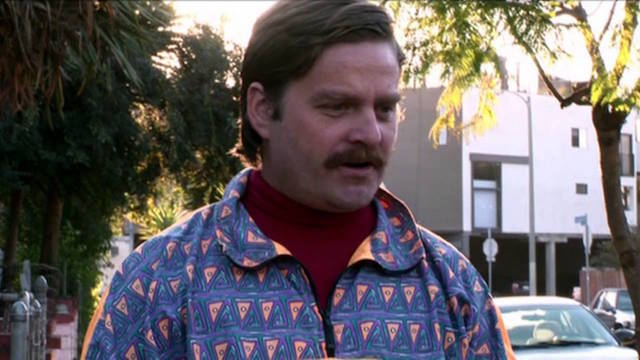 Zach Galifianakis as his brother Seth.