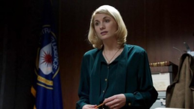 Jodie Whittaker plays Sandy Grimes in 'the Assets'. (Photo: ABC)