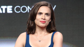Actor Hayley Atwell of 'Howards End' speaks onstage during the Starz portion of the 2017 Summer Television Critics Association Press Tour at The Beverly Hilton Hotel on July 28, 2017 in Beverly Hills, California.
