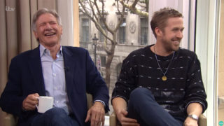 Harrison Ford and Ryan Gosling in hilarious interview.