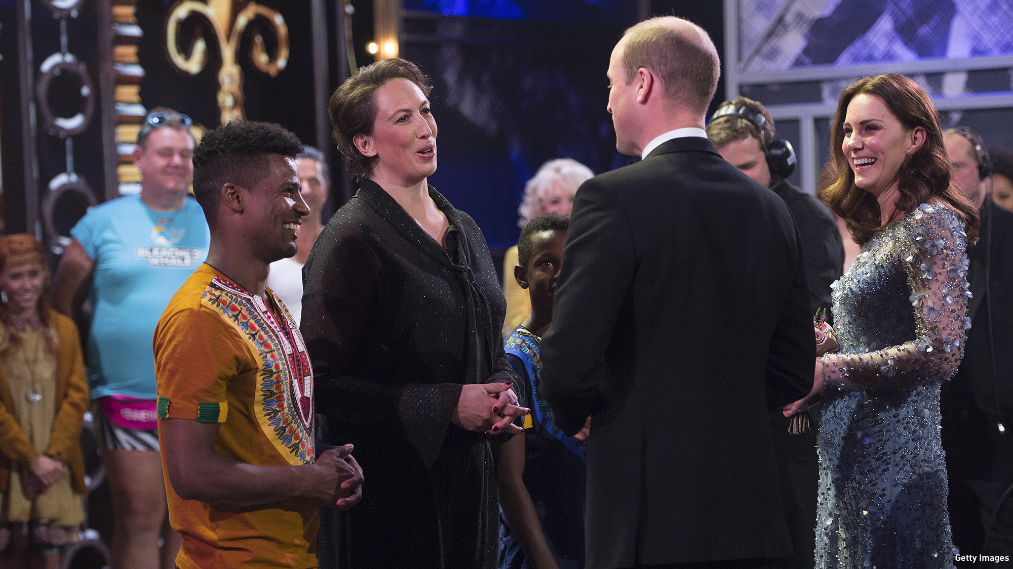 watch  miranda hart convinces prince william to  u201cgallop