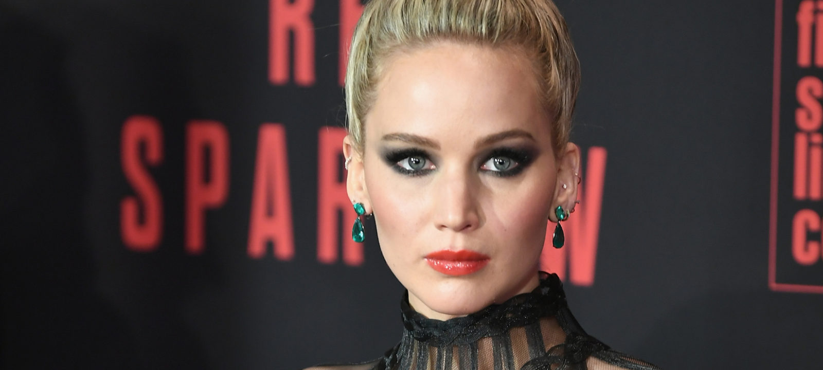 "Jennifer Lawrence attends the ""Red Sparrow"" New York Premiere at Alice Tully Hall at Lincoln Center on February 26, 2018 in New York City."