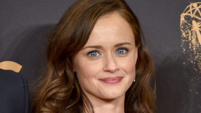 Actor Alexis Bledel of 'The Handmaid's Tale,' winner of the Outstanding Drama Series award, poses in the press room during the 69th Annual Primetime Emmy Awards at Microsoft Theater on September 17, 2017 in Los Angeles, California.
