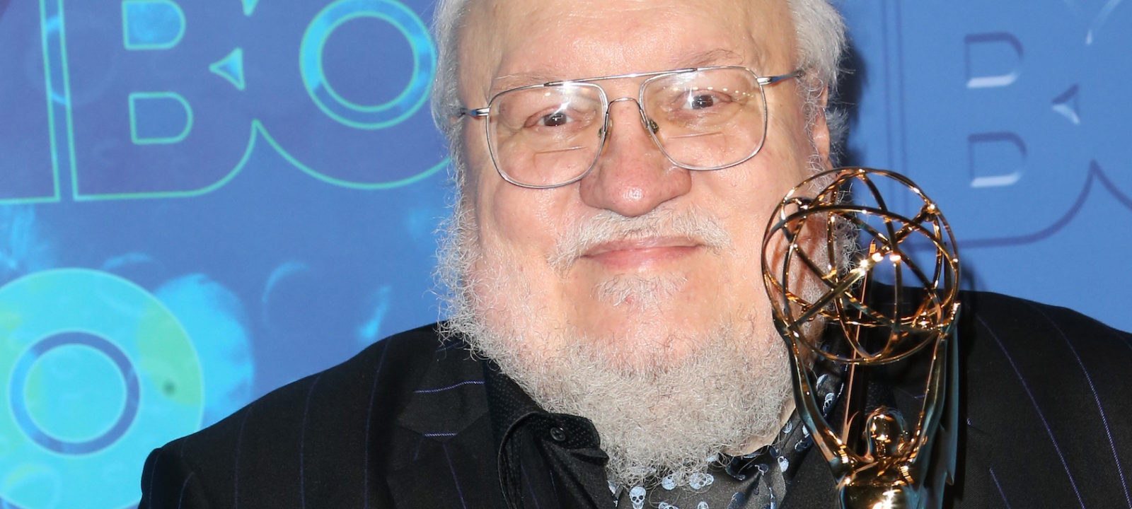 Author George R. R. Martin attends HBO's Official 2016 Emmy After Party at The Plaza at the Pacific Design Center on September 18, 2016 in Los Angeles, California.