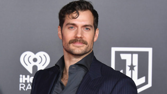 "Actor Henry Cavill attends the premiere of Warner Bros. Pictures' ""Justice League"" at Dolby Theatre on November 13, 2017 in Hollywood, California."