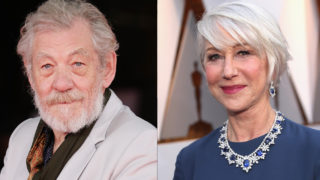 Sir Ian McKellen and Dame Helen Mirren composite