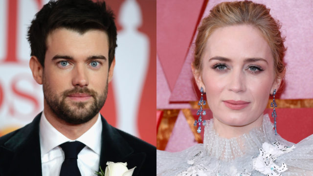 Jack Whitehall and Emily Blunt (composite)