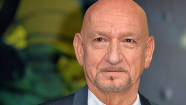 "LONDON, ENGLAND – APRIL 13:  Sir Ben Kingsley arrives for the European premiere of ""The Jungle Book"" at BFI IMAX on April 13, 2016 in London, England."