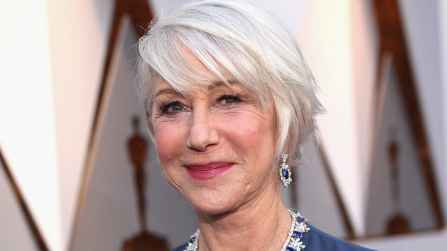 Helen Mirren attends the 90th Annual Academy Awards at Hollywood & Highland Center on March 4, 2018 in Hollywood, California.