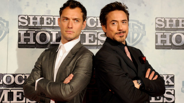 'Sherlock Holmes' Photocall in Madrid