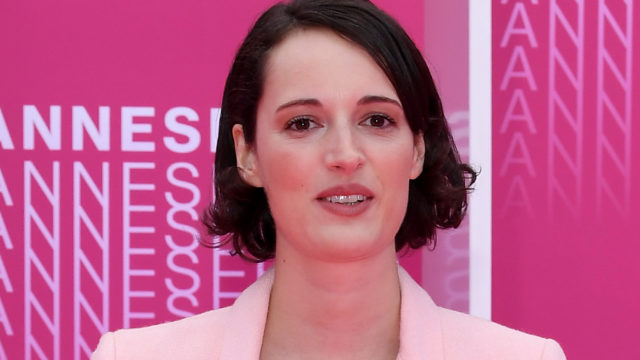 """Phoebe Waller-Bridge from the series """"Killing Eve"""" attends """"Killing Eve"""" and """"When Heroes Fly"""" screening during the 1st Cannes International Series Festival at Palais des Festivals on April 8, 2018 in Cannes, France."""