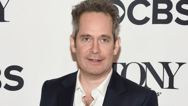 Tom Hollander attends the 2018 Tony Awards Meet The Nominees Press Junket on May 2, 2018 in New York City.