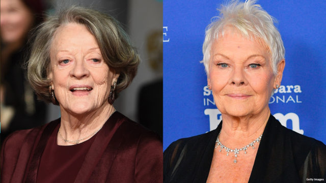 Composite image of Dame Maggie Smith and Dame Judi Dench
